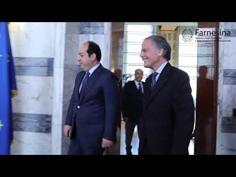 Incontro del Min. Moavero con il Vice Primo Ministro libico Ahmed Maitig
