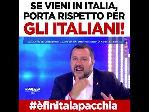 VUOI VENIRE IN ITALIA? RISPETTO PER GLI ITALIANI!