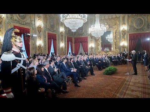 Mattarella incontra i partecipanti agli Stati Generali della lingua italiana nel mondo