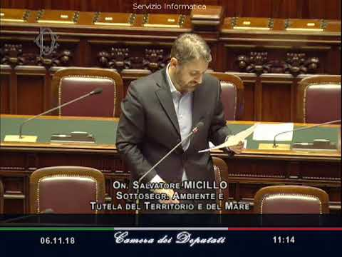 Salvatore Micillo - Iniziative per la tutela della salute pubblica nella città di Castelvetrano