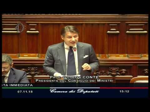 Question time del Presidente Conte alla Camera