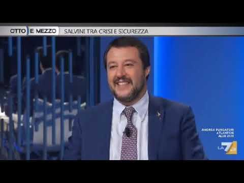 MATTEO SALVINI SU OTTO E MEZZO (LA7, 07.11.2018)