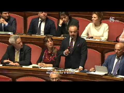 Sergio Puglia (M5S) intervento in Aula Senato