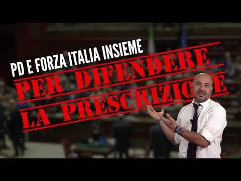 Gianluigi Paragone il PD e Forza Italia insieme per difendere la prescrizione