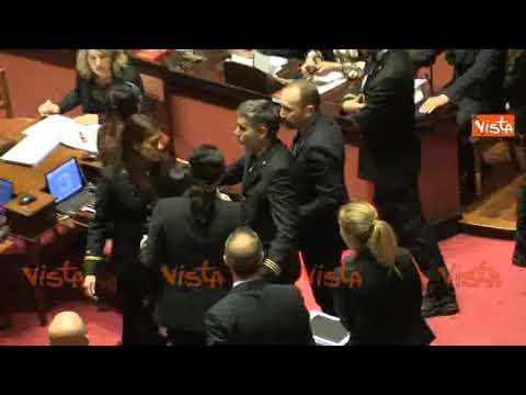 Battibecco tra Lezzi e Ronzulli, la senatrice di Forza Italia fermata dagli assistenti parlamentari