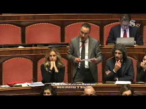 Iunio Valerio Romano (M5S) -  Intervento di fine seduta 06/12/2018