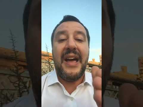 MATTEO SALVINI in diretta da ROMA (04.12.2018)