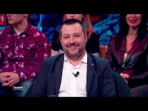 MATTEO SALVINI SU QUARTA REPUBBLICA (RETE 4, 7.01.2019)