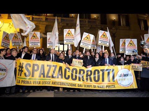 #Spazzacorrotti