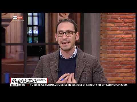 Claudio Cominardi ospite a Sky Tg24 11-01-2019