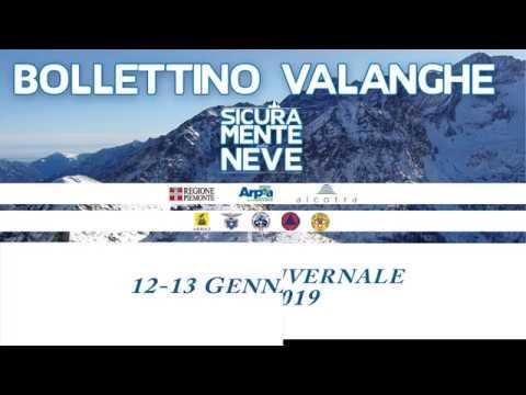 Situazione innevamento e pericolo valanghe per il weekend del 12-13 Gennaio 2019 in Piemonte