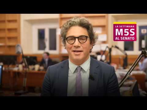 MoVimento 5 Stelle Senato - La settimana - Agostino Santillo