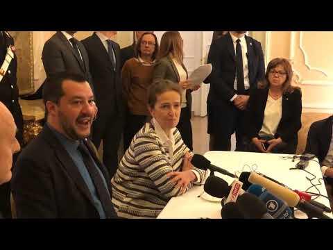 MATTEO SALVINI in diretta da VARSAVIA (09.01.2018)