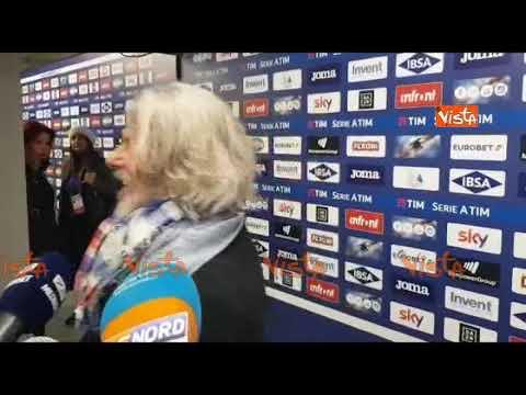 Samp-Milan, Ferrero scherza con una giornalista: