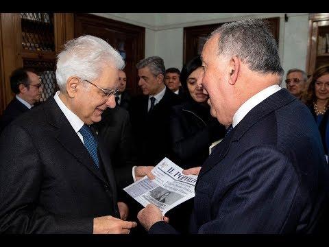 Il Presidente Mattarella all'Istituto Sturzo - appello ai liberi e forti un secolo dopo