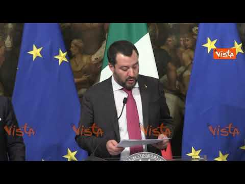 Salvini spiega come funzionerà Quota 100 - Il discorso integrale