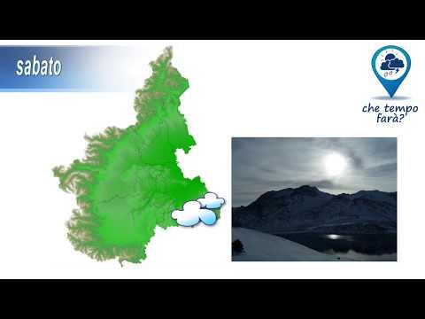 Previsioni meteorologiche per il fine settimana del 9-10 febbraio 2019 in Piemonte - Meteovetta