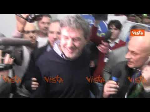 Regionali Abruzzo, Marco Marsilio è il nuovo presidente. Le immagini dei festeggiamenti