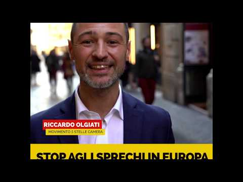Riccardo Olgiati - Stop agli sprechi in Europa
