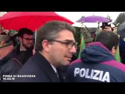 SALVINI ALLA FOIBA DI BASOVIZZA (10.02.19)