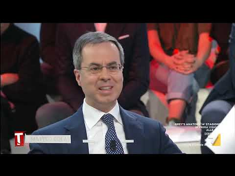 Alessio Villarosa ospite a Tagadà La7 11/02/2019