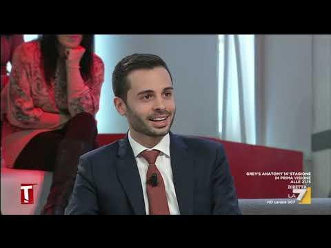 Luca Carabetta ospite a Tagadà La7 11-02-19