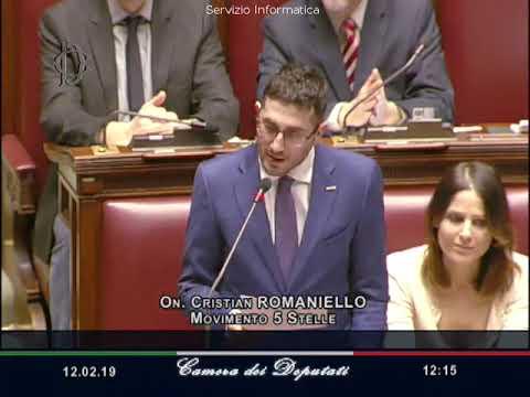 Cristian Romaniello - Intervento in Aula sulla situazione in Venezuela