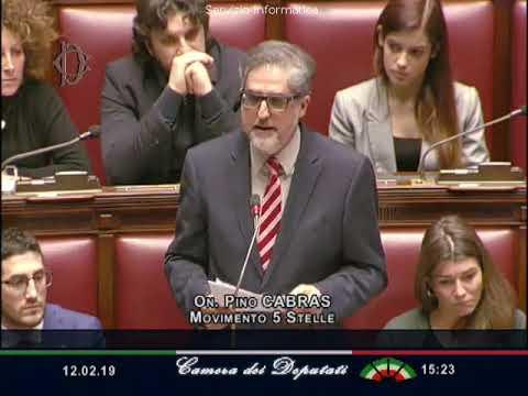 Pino Cabras - Dichiarazione di voto su situazione Venezuela