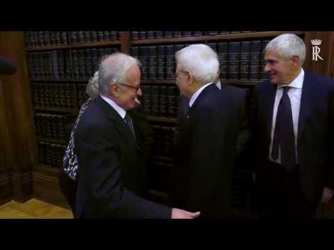Mattarella interviene alla cerimonia commemorativa del Sen. Carlo Donat-Cattin