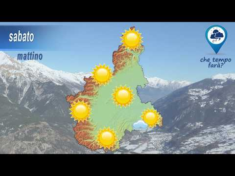 Previsioni meteorologiche per il fine settimana del 16-17 marzo 2019 in Piemonte - Meteovetta