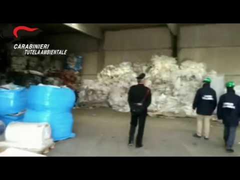 Torino, 15/03/2019 - Carabinieri del NOE sequestrano 5000 tonnellate di rifiuti plastici