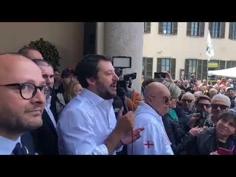MATTEO SALVINI in diretta da CONCOREZZO (MONZA E BRIANZA, 07.05.2019)