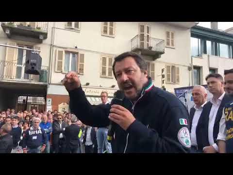 MATTEO SALVINI in diretta da BRA (12.05.2019)
