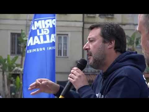 MATTEO SALVINI A SANREMO (12.05.2019)