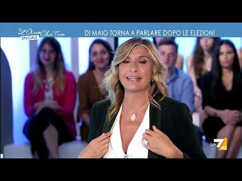 Luigi Di Maio ospite a L'Aria Che Tira Speciale La7 11/06/2019