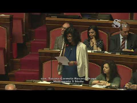 Tiziana Drago (M5S) - Intervento in aula Senato 11/07/2019