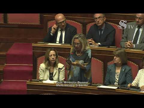 Daniela Donno (M5S) - Intervento in aula Senato 11/07/2019