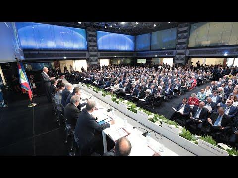 Mattarella all'Assemblea ABI nel centenario della sua costituzione