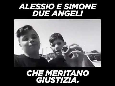 ALESSIO E SIMONE, ANGELI DI VITTORIA CHE MERITANO GIUSTIZIA