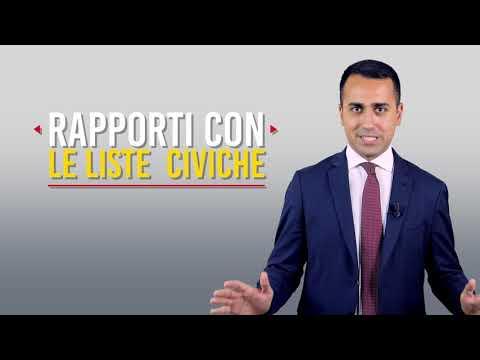 Luigi Di Maio - Movimento 5 Stelle riorganizzazione Comunale
