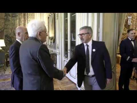 Mattarella incontra una delegazione dell' AIGO