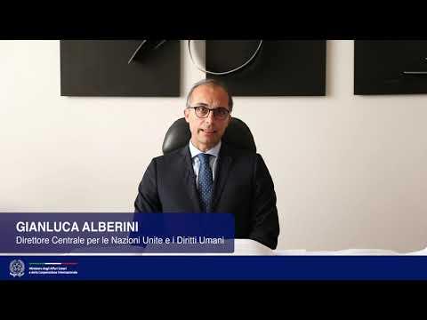#UNGA74 - Intervista al Direttore Centrale per le Nazioni Unite e i Diritti Umani, Gianluca Alberini