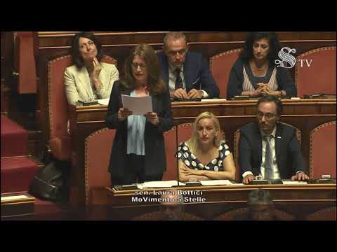 Laura Bottici (M5S) - Intervento in aula 10/09/2019