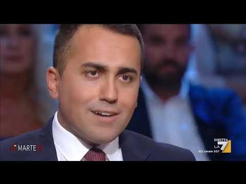 Luigi Di Maio ospite a Di Martedì La7 10-09-2019