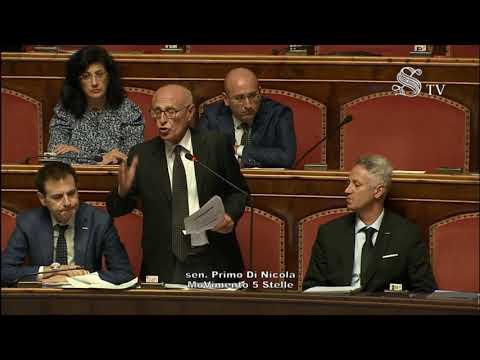 Primo Di Nicola (M5S) - Intervento in aula Senato 09/10/2019