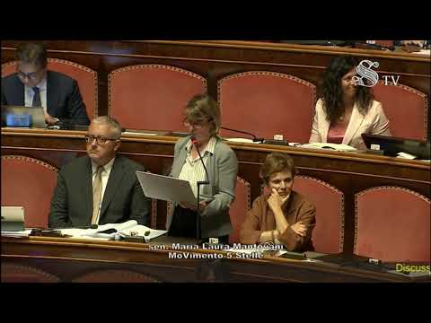 Maria Laura Mantovani (M5S) - Intervento in aula 09/10/2019