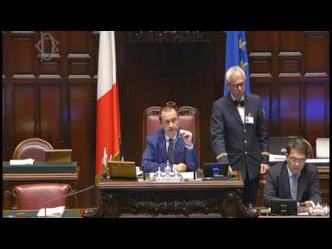 Question Time alla Camera dei Deputati con il ministro Fabiana Dadone il 09-10-2019
