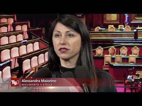 Alessandra Maiorino (M5S) - Tg2 05/12/2019