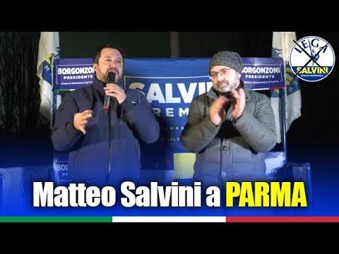 MATTEO SALVINI A PARMA (13.01.2020)