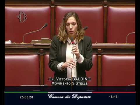 Vittoria Baldino - Question Time ministro della Pubblica Amministrazione Dadone 25/03/20